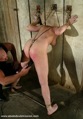 Photo number 7 from Mark Davis and Dana DeArmond shot for Sex And Submission on Kink.com. Featuring Mark Davis and Dana DeArmond in hardcore BDSM & Fetish porn.