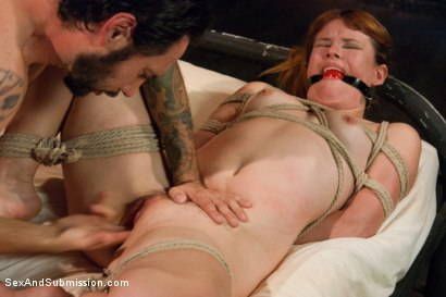 Photo number 8 from Broken Down Redhead Slut: Face Fucking and Anal Sex in Bondage! shot for Sex And Submission on Kink.com. Featuring Tommy Pistol and Claire Robbins in hardcore BDSM & Fetish porn.