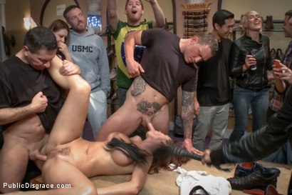 Photo number 10 from Dreamy MILF behaves herself like a perfect sub should. shot for Public Disgrace on Kink.com. Featuring Syren de Mer and John Strong in hardcore BDSM & Fetish porn.