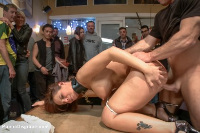 Photo number 13 from Dreamy MILF behaves herself like a perfect sub should. shot for Public Disgrace on Kink.com. Featuring Syren de Mer and John Strong in hardcore BDSM & Fetish porn.