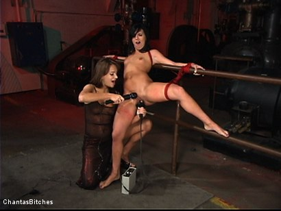 Photo number 7 from Sweet And Innocent shot for Chantas Bitches on Kink.com. Featuring Ashli  Orion and Nika Noire in hardcore BDSM & Fetish porn.