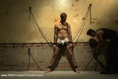 Photo number 1 from House Dom Christian Wilde takes the ultimate challenge! shot for 30 Minutes of Torment on Kink.com. Featuring Christian Wilde in hardcore BDSM & Fetish porn.