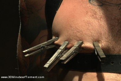 Photo number 7 from House Dom Christian Wilde takes the ultimate challenge! shot for 30 Minutes of Torment on Kink.com. Featuring Christian Wilde in hardcore BDSM & Fetish porn.