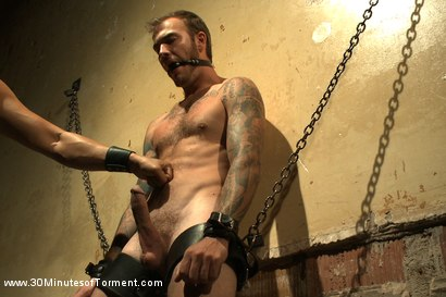 Photo number 3 from House Dom Christian Wilde takes the ultimate challenge! shot for 30 Minutes of Torment on Kink.com. Featuring Christian Wilde in hardcore BDSM & Fetish porn.