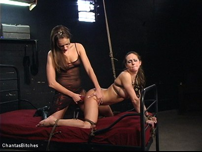 Photo number 4 from Two Kinky Bitches shot for Chantas Bitches on Kink.com. Featuring Rachel Roxxx and Nika Noire in hardcore BDSM & Fetish porn.