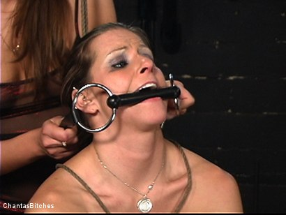 Photo number 7 from Two Kinky Bitches shot for Chantas Bitches on Kink.com. Featuring Rachel Roxxx and Nika Noire in hardcore BDSM & Fetish porn.