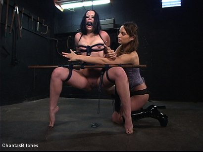 Photo number 1 from Amber's New Bitch shot for Chantas Bitches on Kink.com. Featuring Amber Rayne and Alexa Von Tess in hardcore BDSM & Fetish porn.