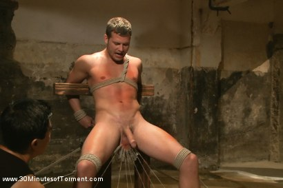 Photo number 11 from Hayden Richards vs The Chair & The Chair Won shot for 30 Minutes of Torment on Kink.com. Featuring Hayden Richards in hardcore BDSM & Fetish porn.