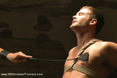 Photo number 4 from Hayden Richards vs The Chair & The Chair Won shot for 30 Minutes of Torment on Kink.com. Featuring Hayden Richards in hardcore BDSM & Fetish porn.