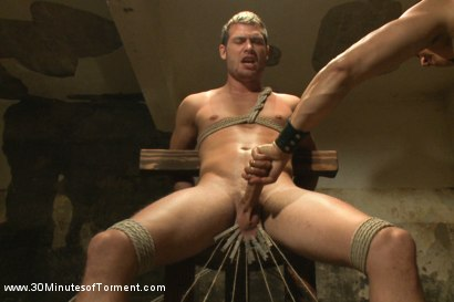 Photo number 7 from Hayden Richards vs The Chair & The Chair Won shot for 30 Minutes of Torment on Kink.com. Featuring Hayden Richards in hardcore BDSM & Fetish porn.