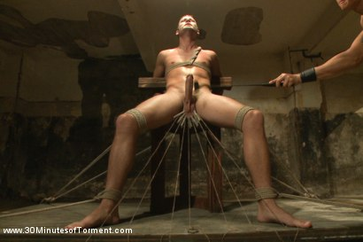 Photo number 8 from Hayden Richards vs The Chair & The Chair Won shot for 30 Minutes of Torment on Kink.com. Featuring Hayden Richards in hardcore BDSM & Fetish porn.