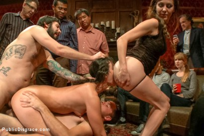 Photo number 10 from True bondage whore takes the pain shot for Public Disgrace on Kink.com. Featuring Wenona and Tommy Pistol in hardcore BDSM & Fetish porn.