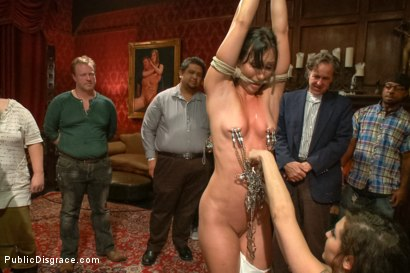 Photo number 2 from True bondage whore takes the pain shot for Public Disgrace on Kink.com. Featuring Wenona and Tommy Pistol in hardcore BDSM & Fetish porn.