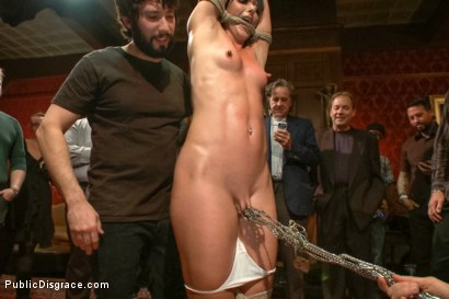 Photo number 3 from True bondage whore takes the pain shot for Public Disgrace on Kink.com. Featuring Wenona and Tommy Pistol in hardcore BDSM & Fetish porn.