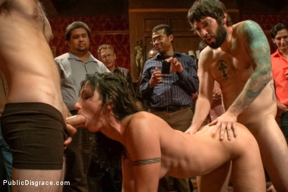 Photo number 9 from True bondage whore takes the pain shot for Public Disgrace on Kink.com. Featuring Wenona and Tommy Pistol in hardcore BDSM & Fetish porn.