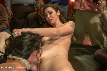 Photo number 14 from True bondage whore takes the pain shot for Public Disgrace on Kink.com. Featuring Wenona and Tommy Pistol in hardcore BDSM & Fetish porn.
