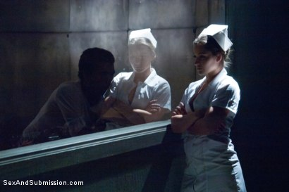 Photo number 2 from The Night Nurse: Dani Daniels shot for Sex And Submission on Kink.com. Featuring Xander Corvus and Dani Daniels in hardcore BDSM & Fetish porn.