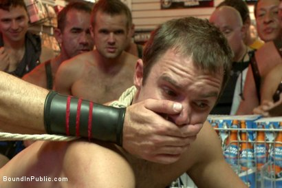Photo number 11 from Sexy stud Cameron Kincade - The Folsom Street Whore shot for Bound in Public on Kink.com. Featuring Connor Maguire, Cameron Kincade and Jessie Colter in hardcore BDSM & Fetish porn.