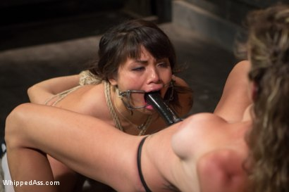 Photo number 15 from Braces, Bondage And No Mercy shot for Whipped Ass on Kink.com. Featuring Felony and Milcah Halili in hardcore BDSM & Fetish porn.