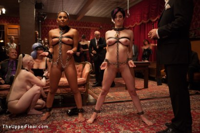 Photo number 3 from Discipline Lost: The Return of the Consort shot for The Upper Floor on Kink.com. Featuring Mickey Mod, Iona Grace, Adrianna Luna and Derrick Pierce in hardcore BDSM & Fetish porn.