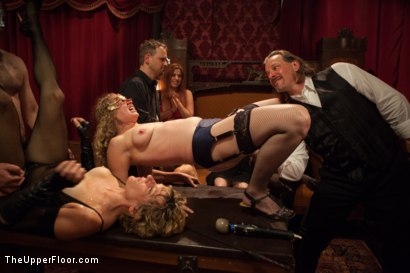 Photo number 5 from Discipline Lost Part Two shot for The Upper Floor on Kink.com. Featuring Mickey Mod, Iona Grace, Adrianna Luna and Derrick Pierce in hardcore BDSM & Fetish porn.