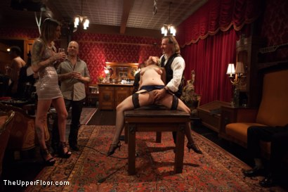 Photo number 1 from Discipline Lost Part Two shot for The Upper Floor on Kink.com. Featuring Mickey Mod, Iona Grace, Adrianna Luna and Derrick Pierce in hardcore BDSM & Fetish porn.