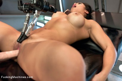 Photo number 14 from Mia Li and her Unsinkable Pussy shot for Fucking Machines on Kink.com. Featuring Mia Little in hardcore BDSM & Fetish porn.