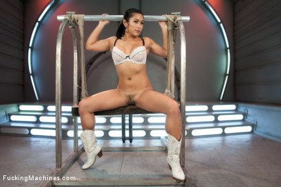 Photo number 1 from Mia Li and her Unsinkable Pussy shot for Fucking Machines on Kink.com. Featuring Mia Li in hardcore BDSM & Fetish porn.
