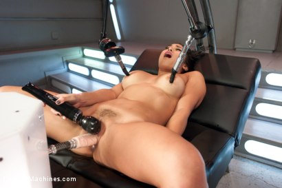 Photo number 7 from Mia Li and her Unsinkable Pussy shot for Fucking Machines on Kink.com. Featuring Mia Li in hardcore BDSM & Fetish porn.