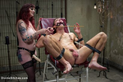 Photo number 15 from Mz Berlin's Casting Call Humiliation shot for Divine Bitches on Kink.com. Featuring Mz Berlin and Blake Steel in hardcore BDSM & Fetish porn.
