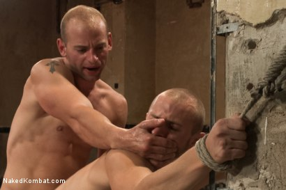 Photo number 14 from Naked Kombat's Summer Smackdown Tournament - 1st Quarter Final Match! shot for Naked Kombat on Kink.com. Featuring Randall O'Reilly and Patrick Rouge in hardcore BDSM & Fetish porn.