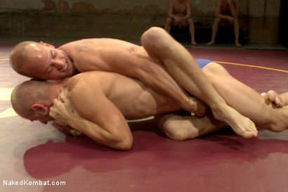 Photo number 1 from Naked Kombat's Summer Smackdown Tournament - 1st Quarter Final Match! shot for Naked Kombat on Kink.com. Featuring Randall O'Reilly and Patrick Rouge in hardcore BDSM & Fetish porn.