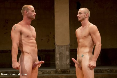 Photo number 15 from Naked Kombat's Summer Smackdown Tournament - 1st Quarter Final Match! shot for Naked Kombat on Kink.com. Featuring Randall O'Reilly and Patrick Rouge in hardcore BDSM & Fetish porn.