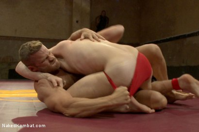 Photo number 1 from Naked Kombat's Summer Smackdown Tournament - First Semi-Final Match shot for Naked Kombat on Kink.com. Featuring Landon Conrad and Doug Acre in hardcore BDSM & Fetish porn.