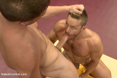 Photo number 9 from Naked Kombat's Summer Smackdown Tournament - First Semi-Final Match shot for Naked Kombat on Kink.com. Featuring Landon Conrad and Doug Acre in hardcore BDSM & Fetish porn.