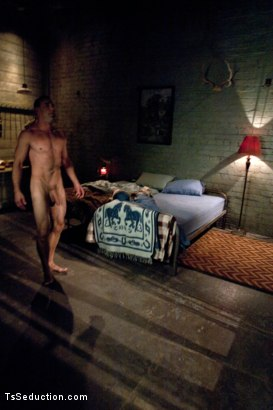 Photo number 6 from Romantic Cabin turns into A Haunted Sex Dungeon w/Ms. Toya & her CCOK shot for TS Seduction on Kink.com. Featuring Ms. Toya and Jason Miller in hardcore BDSM & Fetish porn.