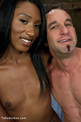 Photo number 15 from Romantic Cabin turns into A Haunted Sex Dungeon w/Ms. Toya & her CCOK shot for TS Seduction on Kink.com. Featuring Ms. Toya and Jason Miller in hardcore BDSM & Fetish porn.