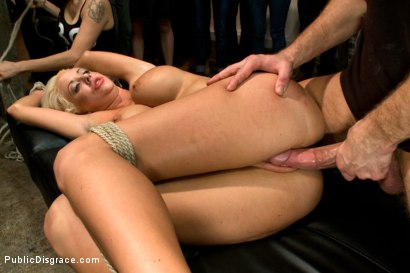 Photo number 7 from Fuckable Art! Big titted blonde fucked in a crowded gallery shot for Public Disgrace on Kink.com. Featuring Courtney Taylor and Bill Bailey in hardcore BDSM & Fetish porn.