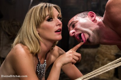 Photo number 14 from Bitch Boy in a Barn: Lifestyle Dominatrix Abuses and Fucks Slave Boy shot for Divine Bitches on Kink.com. Featuring Jason Miller and Mona Wales in hardcore BDSM & Fetish porn.
