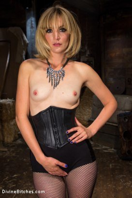 Photo number 1 from Bitch Boy in a Barn: Lifestyle Dominatrix Abuses and Fucks Slave Boy shot for Divine Bitches on Kink.com. Featuring Jason Miller and Mona Wales in hardcore BDSM & Fetish porn.