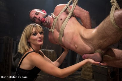 Photo number 12 from Bitch Boy in a Barn: Lifestyle Dominatrix Abuses and Fucks Slave Boy shot for Divine Bitches on Kink.com. Featuring Jason Miller and Mona Wales in hardcore BDSM & Fetish porn.
