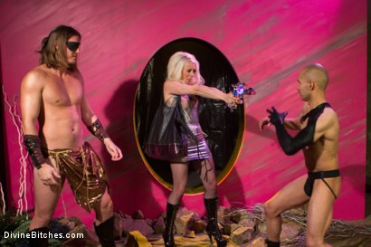 Photo number 11 from The Black Queen and the Essence of Man  shot for Divine Bitches on Kink.com. Featuring Lorelei Lee, Maitresse Madeline Marlowe , Kip Johnson, Santiago and Reed Jameson in hardcore BDSM & Fetish porn.