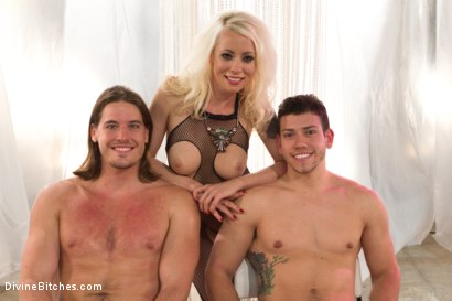 Photo number 9 from The Black Queen and the Essence of Man  shot for Divine Bitches on Kink.com. Featuring Lorelei Lee, Maitresse Madeline Marlowe , Kip Johnson, Santiago and Reed Jameson in hardcore BDSM & Fetish porn.