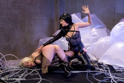 Photo number 7 from Barbarella and the Black Queen shot for Whipped Ass on Kink.com. Featuring Lorelei Lee and Maitresse Madeline Marlowe in hardcore BDSM & Fetish porn.