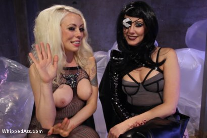 Photo number 11 from Barbarella and the Black Queen shot for Whipped Ass on Kink.com. Featuring Lorelei Lee and Maitresse Madeline Marlowe in hardcore BDSM & Fetish porn.