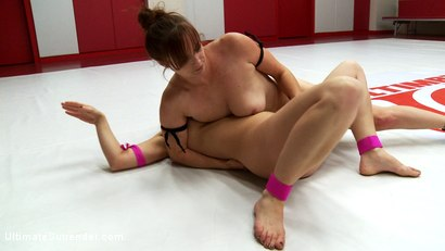 Photo number 6 from Big Busted, Blond Barbie Brawler gives Bella Rossi a Run for her Money shot for Ultimate Surrender on Kink.com. Featuring Carissa Montgomery and Bella Rossi in hardcore BDSM & Fetish porn.