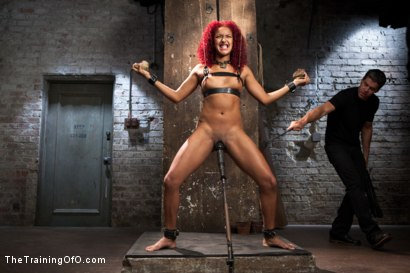 Photo number 1 from Training a Slave to Take it in the Ass, Day Three shot for The Training Of O on Kink.com. Featuring Daisy Ducati and Owen Gray in hardcore BDSM & Fetish porn.