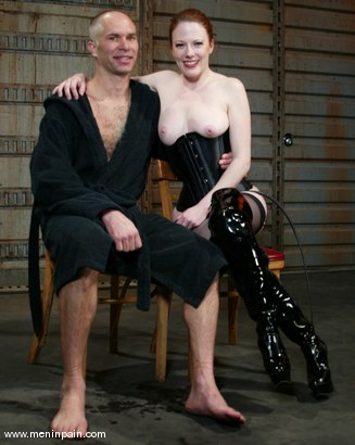 Photo number 15 from Lady Lydia McLane, Ed Stone and James shot for Men In Pain on Kink.com. Featuring Lady Lydia McLane, Ed Stone and James in hardcore BDSM & Fetish porn.