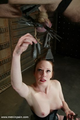 Photo number 2 from Lady Lydia McLane, Ed Stone and James shot for Men In Pain on Kink.com. Featuring Lady Lydia McLane, Ed Stone and James in hardcore BDSM & Fetish porn.