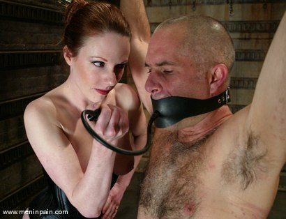 Photo number 4 from Lady Lydia McLane, Ed Stone and James shot for Men In Pain on Kink.com. Featuring Lady Lydia McLane, Ed Stone and James in hardcore BDSM & Fetish porn.